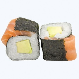Sake Avokado Hosomaki (8gab)